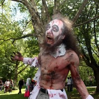 Gallery: Zombies attack buses in Dublin...all in the name of charity