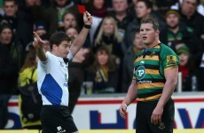 Dylan Hartley elbow downplayed by Mallinder