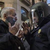 Spain wants to fine people who protest and 'breach the peace' outside parliament