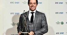 Rory McIlroy named RTÉ Sports Person of the Year