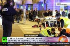Driver shouting 'Allahu Akbar' runs down 11 pedestrians