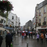 Christmas shopping in the West? Bring your brolly