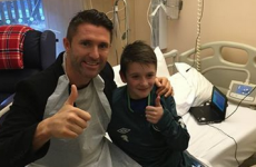 Happy Christmas - Robbie Keane invites child with CF to Euro 2016 qualifier