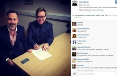 Elton John Instagrammed his entire wedding over the weekend... it's The Dredge