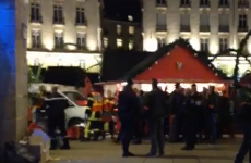 Man stabs himself after ploughing van into busy Christmas market