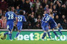 Even when Cesc Fabregas hits the ball terribly, he's still hard to fault