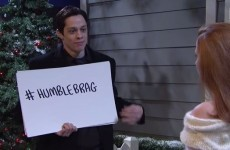 SNL spoofed the infamous cue card scene from Love Actually and it was brilliant
