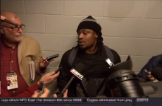 Marshawn Lynch says 'Thanks for asking' to every question in bizarre press conference