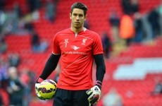 Jones warns Mignolet: I'm not giving up Liverpool No 1 shirt