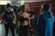 UFC champion Ronda Rousey stars as herself in the new Entourage movie