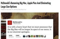 McDonald's forced to deny it's getting rid of Big Mac after hoax article goes viral