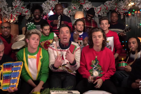 One Direction on The Tonight Show with Jimmy Fallon