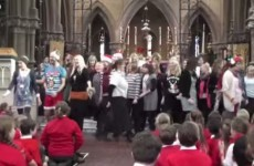 Teachers surprise kids with delightful flashmob performance of Let It Go