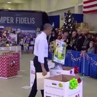 Watch Barack Obama wonderfully shut down toy gender stereotypes