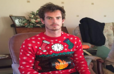 Andy Murray LOVES a good Christmas jumper