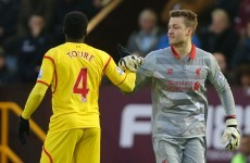 Jones injury forces Rodgers to call on Mignolet as Liverpool beat Burnley