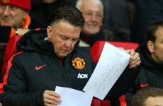 United still doing 'very bad things' - Van Gaal