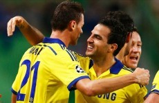 Are Chelsea's engine room of Matic and Fabregas emulating Keane and Scholes?