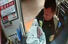 Two cops helped to deliver a baby on a subway on Christmas Day