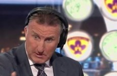 Alan McInally came down with a case of verbal diarrhoea earlier