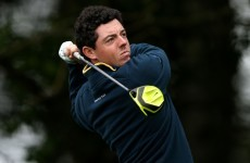 Rory McIlroy is golf's Christmas number one