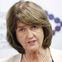Joan Burton says State pension is 'absolutely secure'