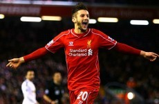 Liverpool can finish in top four, says Lallana