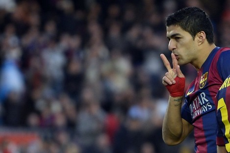 Suarez: Barca's last big signing for a little while.