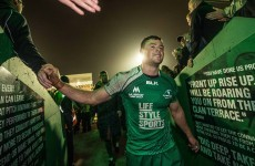 Henshaw set for Connacht return in sold-out New Year's Day Munster tie