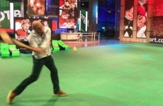Ben Kay nailed a hurling shot in front of Tomás O'Leary on BT Sport last night