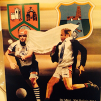 These two GAA fans came up with the perfect souvenir for their wedding guests
