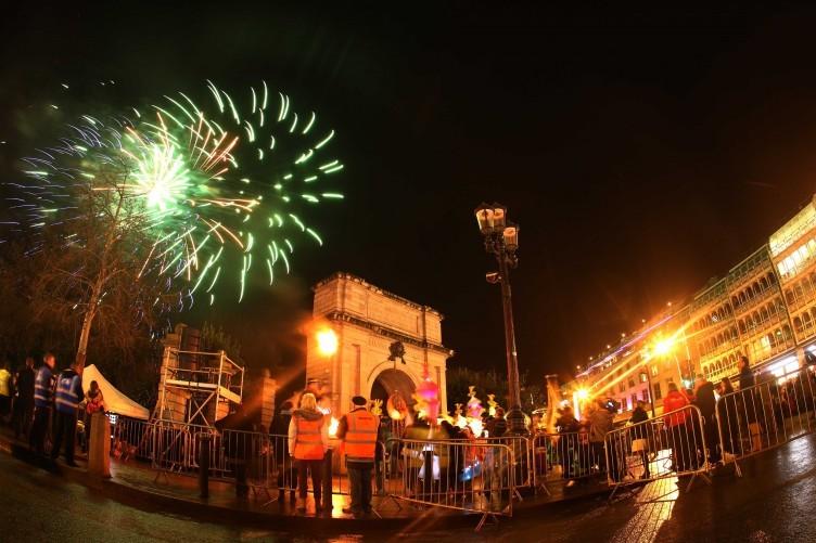Celebrations in Dublin in 2012.