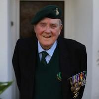 Irish D-Day veteran dies just 2 weeks after receiving the Legion d'Honneur
