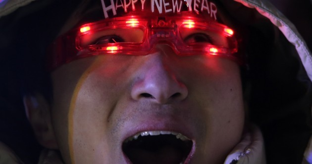 Happy New Year! The world has started ringing in 2015