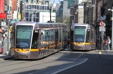 There were 88,000 journeys on the Luas EVERY DAY this year