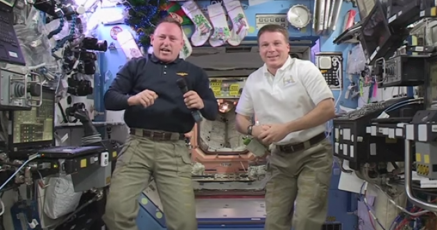 NASA will ring in the new year 16 times