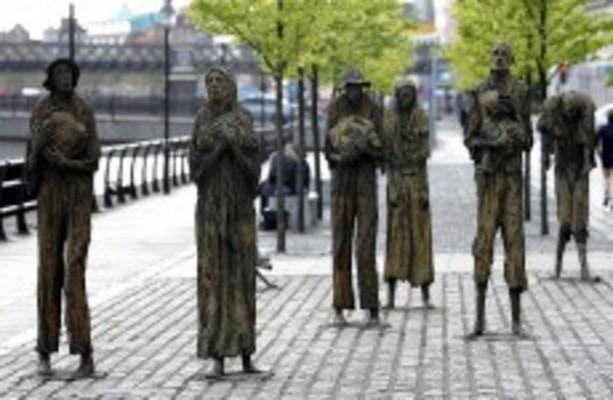 irish famine magazine article