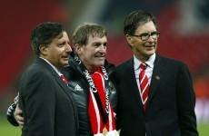Liverpool chairman admits season hasn't gone as planned