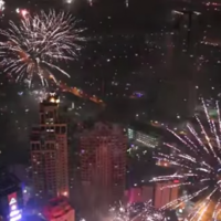 Watch Manila's spectacular free-for-all New Year's fireworks light up the sky