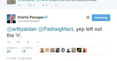 """Minister apologises for offence after """"leaving the n out"""" of tweet about 'cult politics'"""