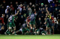 Henshaw on fire as Connacht overpower Munster
