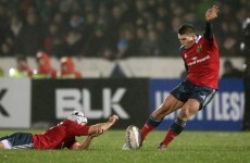 Ian Keatley used the western wind to his full advantage to nail an outrageous touchline conversion