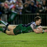 Henshaw and Marmion combined for this glorious Connacht try against Munster