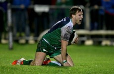 Momentum of Marmion try turned game for Connacht -- Foley