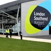 Plane makes emergency landing at UK airport after engine catches fire