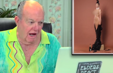 Pensioners react to Kim Kardashian's oily arse