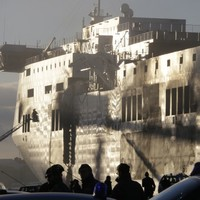 Italian firefighters board tragic ferry as 19 people remain missing
