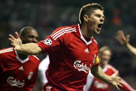 Steven Gerrard announced he would leave Liverpool at the end of the season last Friday.