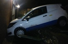 Drink-driver crashes his car... into a police station