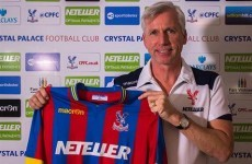 No 8-year contract this time as Palace confirm Pardew appointment